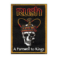 Rush Men's Embroidered Patch Black