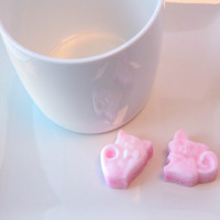 Cat Sugar Cubes / Wedding Favors, Baby Shower Favors, Bridal Shower Favors, Tea Party Favors, Cocktail Parties, Coffee
