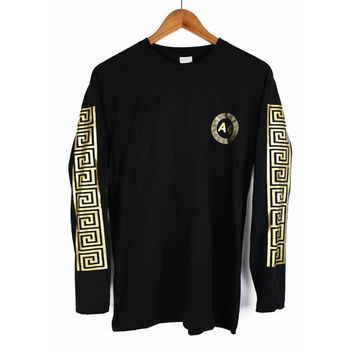 Agora Greek Long Sleeve T Shirt Tee