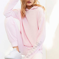 Juicy Couture For UO Gothic Crystal Hooded Velour Top | Urban Outfitters Canada