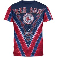 Boston Red Sox - Logo V-Dye T-Shirt