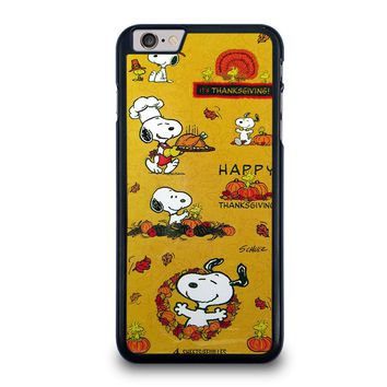 SNOOPY THE PEANUTS THANKSGIVING iPhone 6 / 6S Plus Case