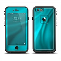 The Turquoise Highlighted Swirl Apple iPhone 6/6s Plus LifeProof Fre Case Skin Set