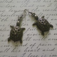 Turtle Shaped Earrings