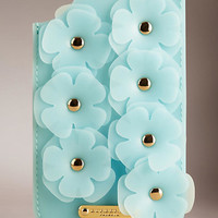 iPhone 5/5s Case in Deerskin and Rubber with Flowers
