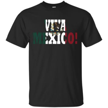 Viva Mexico Mexican Independence Day El Grito Flag T-shirt
