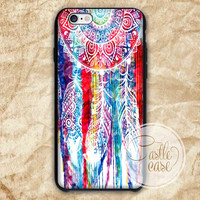 Dreamcather Watercolor iPhone 4/4S, 5/5S, 5C Series, Samsung Galaxy S3, Samsung Galaxy S4, Samsung Galaxy S5 - Hard Plastic, Rubber Case
