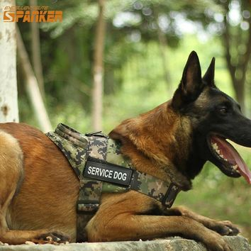EXCELLENT ELITE SPANKER Training Hunting Clothes Dogs Harness Outdoor Military Tactical Vest Accessories For Pets Universal