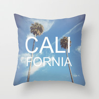 CaliFornia Throw Pillow by crashley96