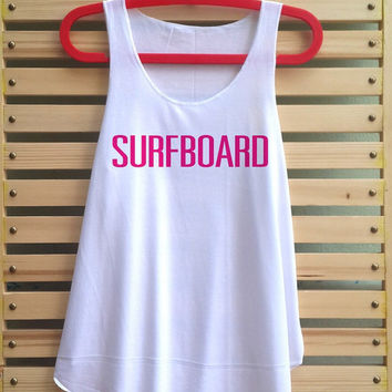 Surfboard Shirt Beyonce Yonce Flawless shirt Drunk in Love Shirts Tank Top vintage tank top singlet clothing vest tee tunic - size S M
