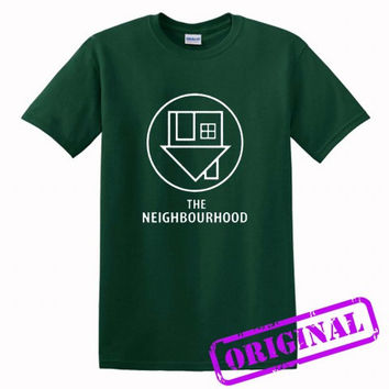 The NBHD The neighbourhood Logo for shirt forest green, tshirt forest green unisex adult