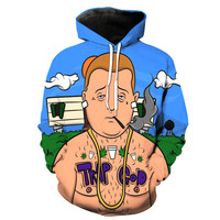 Trap God Bobby Hill King Of The Hill Hoodie