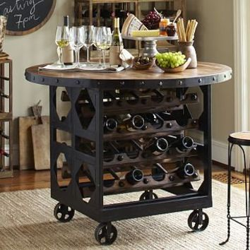 Trieste Wine Storage Table | Pottery Barn