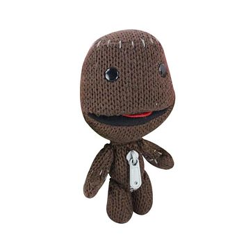 15CM Little Big Planet Plush Toy Sackboy Cuddly Knitted Stuffed Doll Figure Toys Kids Animal Comfort Doll for kids gift