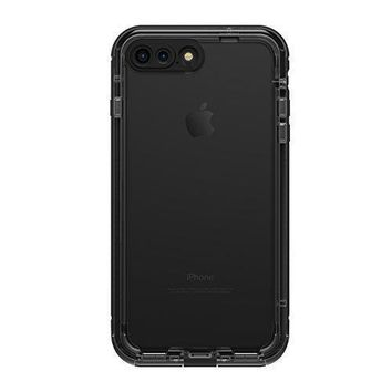 Day-First™ LifeProof NUUD SERIES Waterproof Case for iPhone 7 Plus (ONLY) - Retail Packaging - BLACK