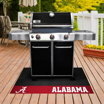 University of Alabama Crimson Tide Vinyl Grill Mat