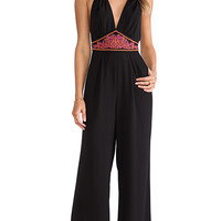 6 SHORE ROAD Before Dawn Jumpsuit in Black