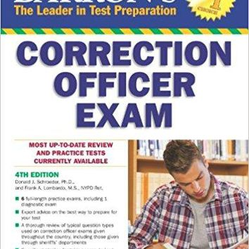 Barron's Correction Officer Exam Barron's Correction Officer Exam 4