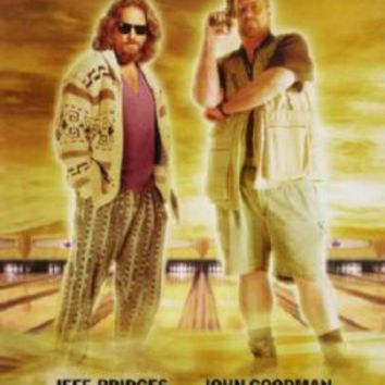 Big Lebowski The Movie Poster Standup 4inx6in