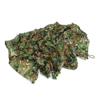 1M*2M Outdoor Woodland Camo Net Camouflage Netting Military Hunting Shooting Sunscreen Netting