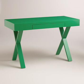 Green Josephine Desk - World Market