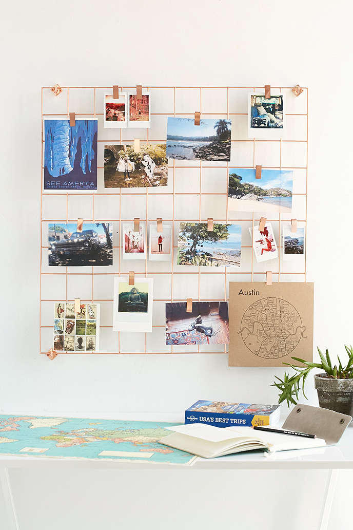 Wire wall grid urban outfitters from urban outfitters for Room decor urban outfitters uk