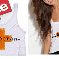 Ed Sheeran Cross Cropped Tank