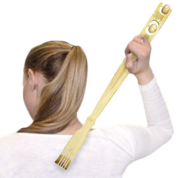 Bamboo Massage Backscratcher