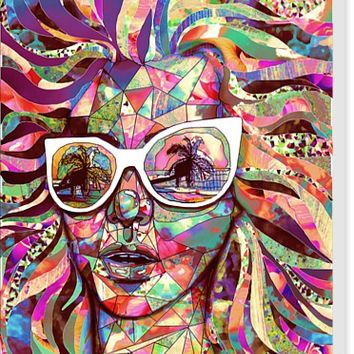Sun Glasses In a Summer Sun Stretched Canvases by Ben Geiger | Nuvango