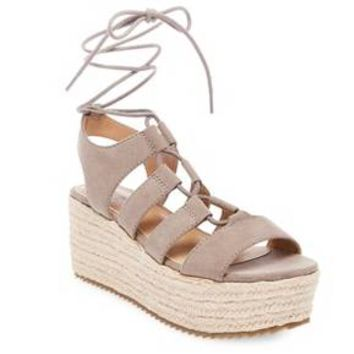 Women's Pebbles Wrap Flatform Espadrille Sandals - Mossimo Supply Co.™