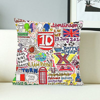One Direction Lyric - Design Pillow Case with Black/White Color.