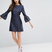 Sister Jane Dress With Exaggerated Sleeves at asos.com