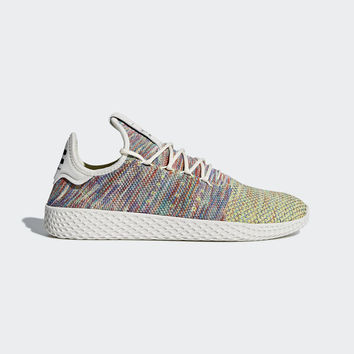 5920dd6079f Tênis Pharrell Williams Tennis Hu Primeknit - Verde adidas