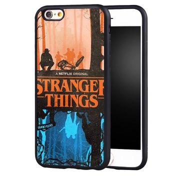 Stranger Things phone case cover for Samsung Galaxy s4 s5 s6 S7 edge S8 plus note 2 3 4 5