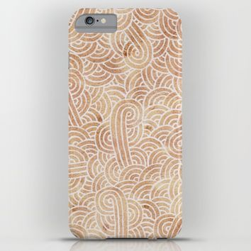 Iced coffee and white zentangles iPhone & iPod Case by Savousepate