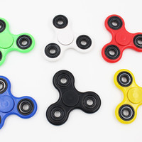 27 Color Fidget Spinner Finger ABS EDC Hand Spinner Tri For Kids Autism, Anxiety, Stress Relief, Focus Handspinner