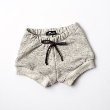 Baby gray french terry shorts, Unisex Toddler gray sweat shorts, Comfy baby Shorties, Boy or Girl jogger shorts, trendy baby clothes