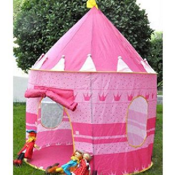 Fashion Children's Toys Gaming Play House Princess Castle Tent = 1945787396