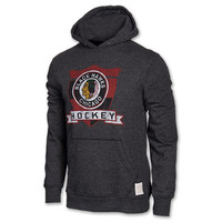 Wildcat Chicago Blackhawks NHL Triblend Fleece Hoodie