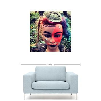 "ILoveMakonnen - Makonnen Doll 20"" x 20"" Premium Canvas Gallery Wrap Home Wall Art Print"