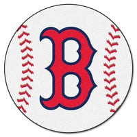 Boston Red Sox MLB Baseball Round Floor Mat (29)