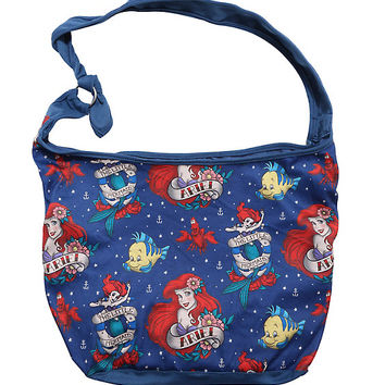Loungefly Disney The Little Mermaid Tattoo Ariel Hobo Bag