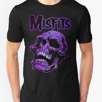 2016 New Men Clothes Retro Punk Restyling misfits Short sleeve T Shirt Men Cotton T-Shirt Spring Casual T Shirts Plus Size S-XXL