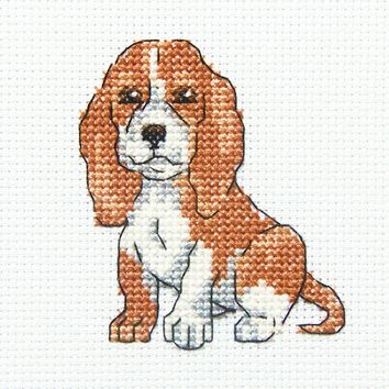 "RTO Counted Cross Stitch Kit 3.5""X3.5""-Long Eared Buddy (14 Count)"
