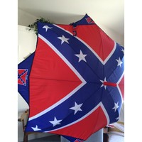 Confederate or Rebel Flag Umbrella, new one of a kind item