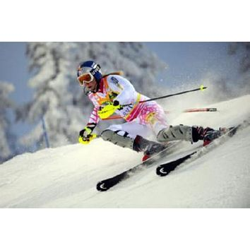 Sale! Lindsey Vonn Poster Action Skiing 24inx36in