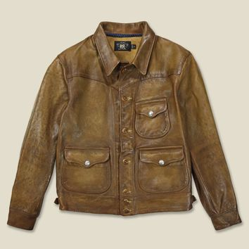 RRL - Griggs Leather Jacket - Walker Tan