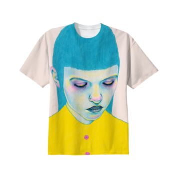 Shy t-shirt created by Natalie Foss | Print All Over Me
