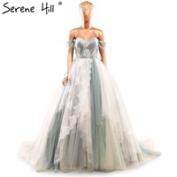 Ball Gown Waterfall Mixed Color Wedding dress Bridal Gown Custom size and Colors