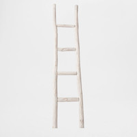 Wooden Ladder Towel Rack - Occasional Furniture - Bedroom | Zara Home United States